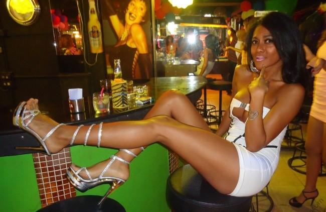 Southeast Asia ladyboy Go Go bar prostitute